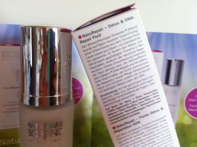 Annemarie Börlind NatuRepair Detox & DNA-Repair Fluid Test