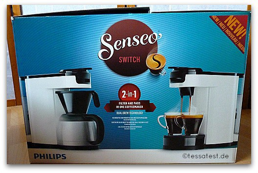 senseo switch 2 in 1 filter und padkaffeemaschine von philips im test. Black Bedroom Furniture Sets. Home Design Ideas
