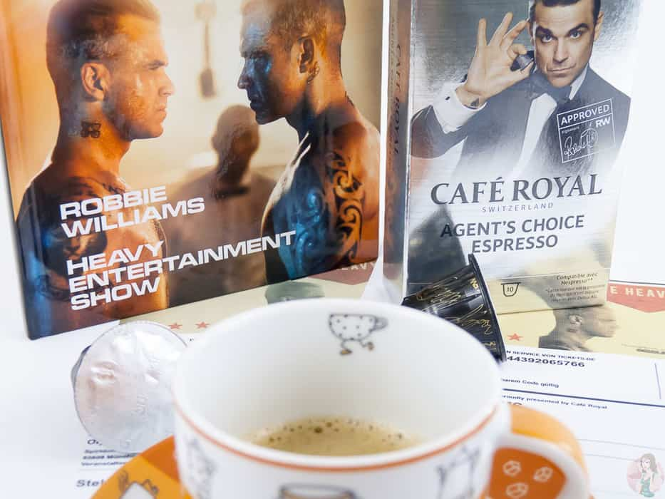 Cafe Royal Robbie Williams